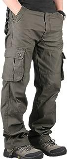 [Fadam(ファダム)] カーゴ パンツ メンズ アウトドア サバゲー タクティカル 登山 ミリタリー 多機能 ワーク ズボン ストレート