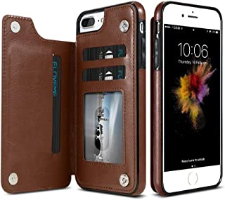 Retro PU Leather Case For iPhone 6 & iPhone 6s Multi Card Slots Holders Case Men Stylish Shockproof cover Mobile Phone Acc...