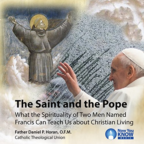 The Saint and the Pope audiobook cover art