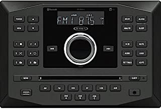 Jensen JWM60A AM FM DVD CD USB AUX App Ready Bluetooth Wallmount Stereo with App Control, Plays: CD, CD-R, CD-RW, DVD, DVD...