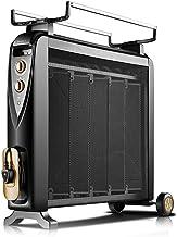 Calentador QFFL radiador eléctrico Ahorro de energía del hogar Estufa Asada Caliente Película eléctrica silicio silencioso 810 * 700mm Enfriamiento y calefacción (Color : A)
