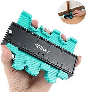 KOBWA Medidor De Contornos, 120mm/4,7 Pulgadas Profesional Copiador De Contornos Marcaje