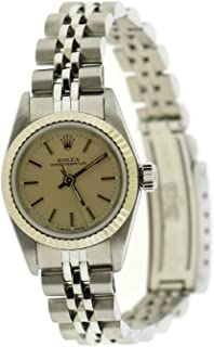 Rolex Oyster Perpetual Automatic-self-Wind Female Watch 67194 (Certified Pre-Owned)