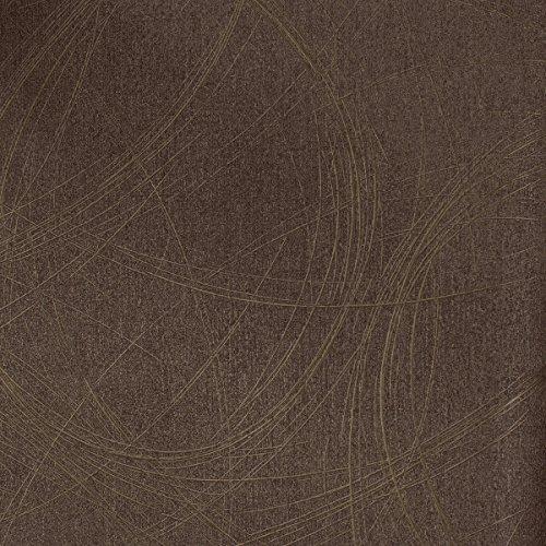 Tapete Kupfer, Bronze Grafisch - Ovale, Linien, Geschwungen - Ideal für Wohnzimmer - Colani Visions - Made in Germany - 10,05m X 0,70m - 53323