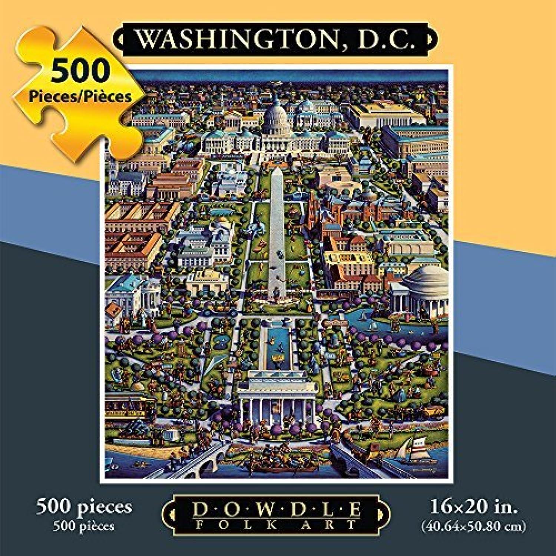 Jigsaw Puzzle - Washington DC 500 Pc By Dowdle Folk Art by Dowdle Folk Art