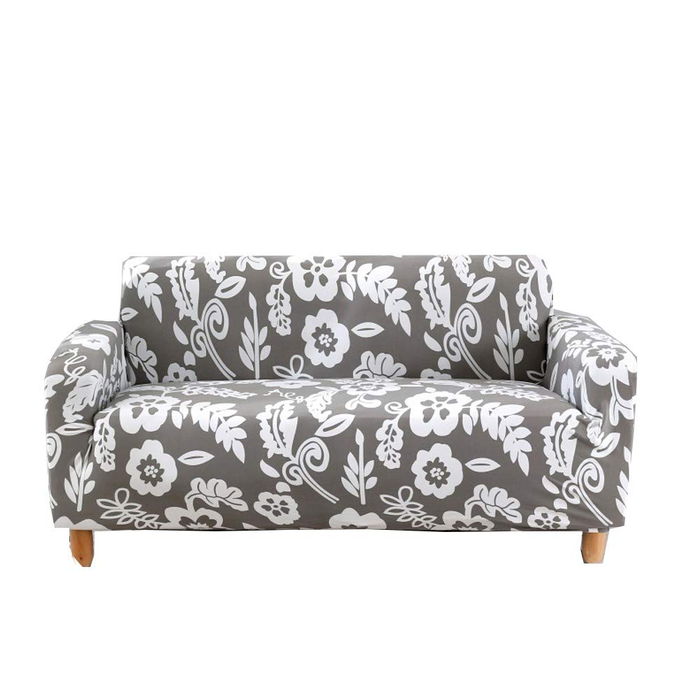 Lamberia Printed Sofa Cover Stretch Couch Cover Sofa Slipcovers for Couches and Loveseats with Two Pillow Case (Morning, S...