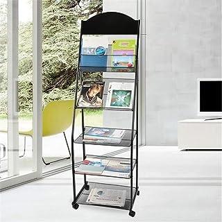 Porte-Revues sur Pied Réticulaire Sol Catalogue étagère Extensible Brochure Tablette Portable Affichage Tablette Flyer Rac...