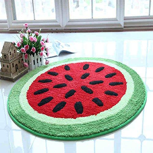 Global- Art und Weisehirtendes Art-Nylonmaterial Haushalt-Kinder ringsum Teppich, Büro-Studie Kaffeetisch Wohnzimmer-Teppich, netter Baby-Teppich-Kinder kriechende Matte ( größe : Diameter 110cm )