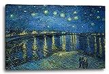Printed Paintings Leinwand (80x60cm): Vincent Van Gogh -