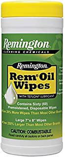 Interstate Arms Corp Remington Rem Oil Wipes, Pop Up (7 x 8-Inch)