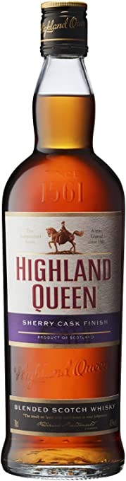 Highland Queen Sherry Cask Finish Blended Scotch Whisky, 700 ml