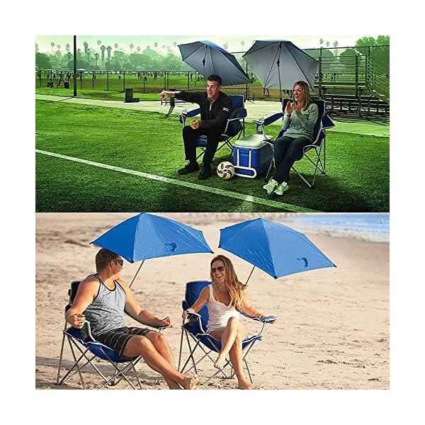 MUTANG Outdoor Freizeit Klapp Sonnenschirm Stuhl Tragbare Angeln Strand Stuhl Camping Stuhl Spielen Stuhl Stuhl…