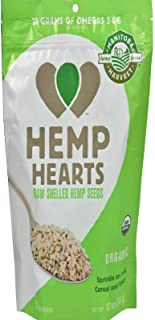 MANITOBA HARVEST HEMP HEART SHELLED ORG 12OZ
