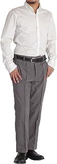 スラックス メンズ ウエストゴム イージーパンツ ウォッシャブル【裾上げ済み 選べる股下65/70cm】ビジネス ビジカジ M L LL ウエスト約79から95cm程度