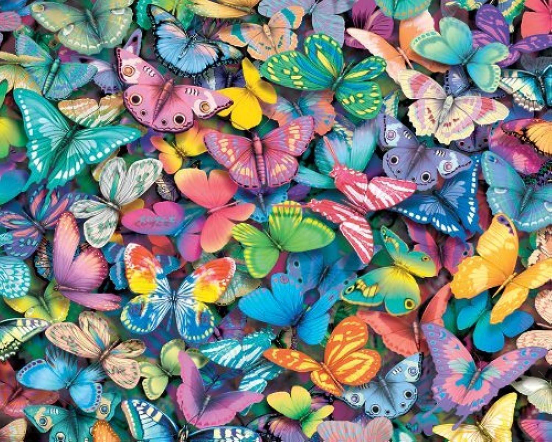 Weiß Mountain Puzzles Butterflies - 1000 Piece Jigsaw Puzzle by Weiß Mountain Puzzles B01LWD5KG3 Starke Hitze- und HitzeBesteändigkeit  | Düsseldorf Eröffnung