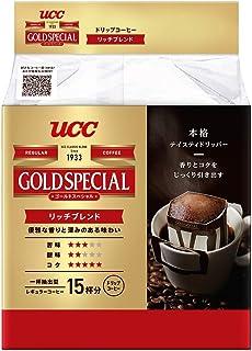 UCC ゴールドスペシャル ドリップコーヒー リッチブレンド 15P ×6個 レギュラー(ドリップ)
