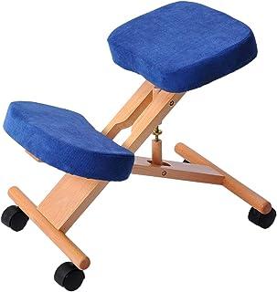 Harper 姿勢が良くなるバランスチェア 猫背不要 姿勢矯正 子供 大人 高さ調整 おしゃれ 学習椅子 (ネービーブルー)