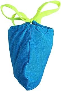 Geoot Men's Sexy Bikini G-Strings T-Back Underwear Briefs
