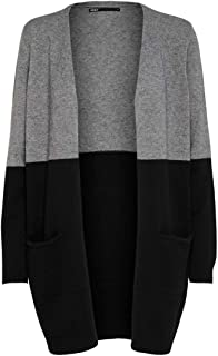 Only Onlqueen L/S Long Cardigan Knt Noos Donna