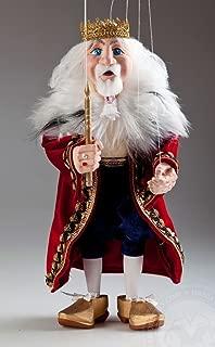 King Miroslav Czech Marionette Puppet