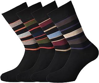 Fontana Calze, 8 paia di calze corte in caldo cotone elasticizzate, confortevoli e rinforzate su punta e tallone. Prodotto...