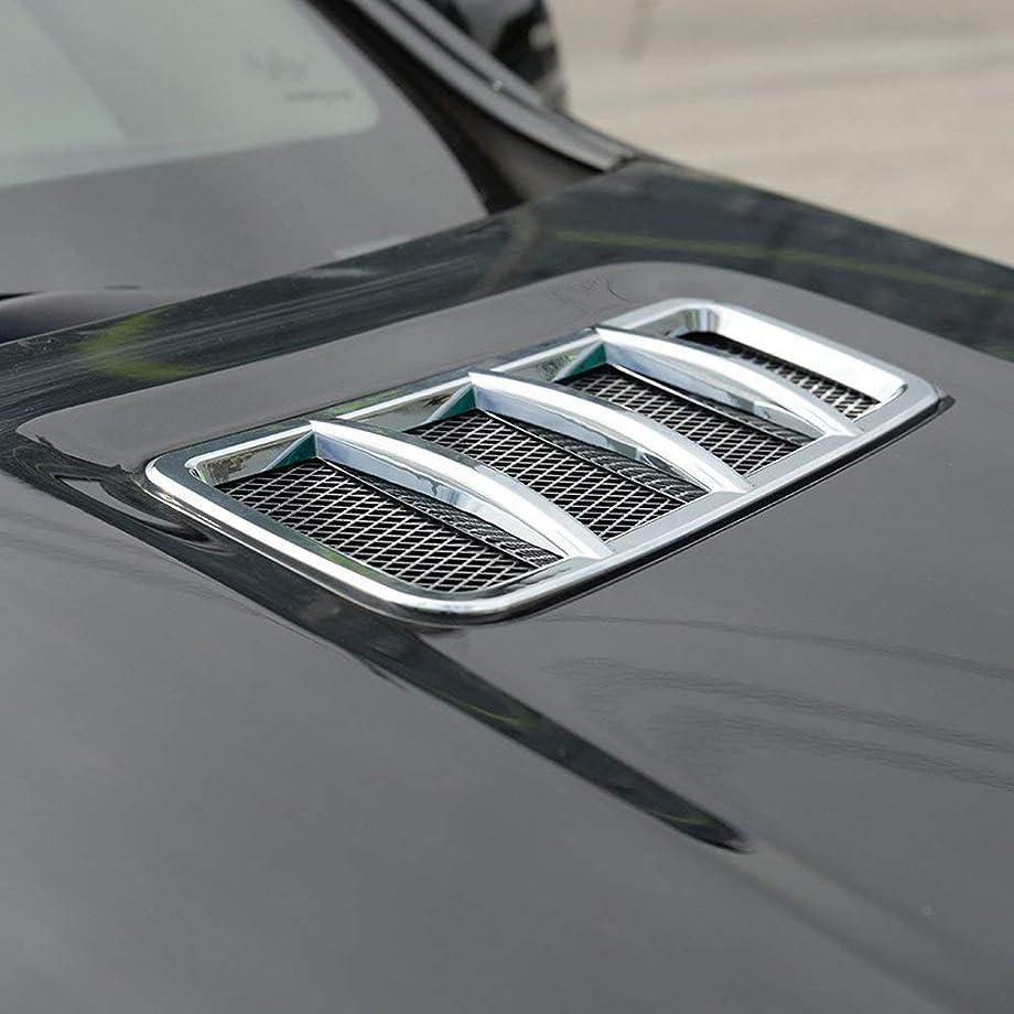 Autobro ABS Chrome Engine Roof Hood Sticker Trim for Mercedes Benz ML GL GLE GLS 2013-2017