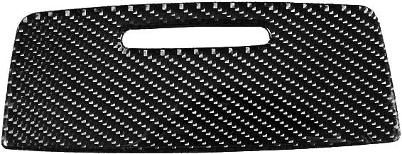 Akozon Panel Trim Cover Sticker Carbon Fiber Car Interior Sticker Storage Box Panel Trim Cover for E90 E92 E93 2005-2012