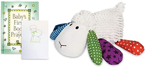 Prayer Buddy Lamb Toy, First Book of Prayers and Card Gift Set