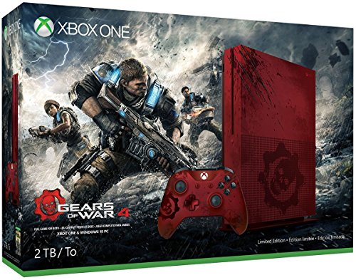 Console Xbox One S 2 To - Gears of War 4 Édition Limitée - 1