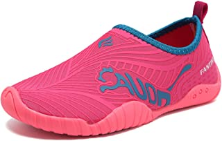 Kids Toddler Water Shoes Quick-Dry Boys and Girls Slip-on Aqua Beach Sneakers (Toddler/Little Kid/Big Kid)