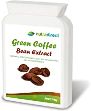 Pure Green Coffee Bean Extract 5000mg 90 Vegetarian Friendly Capsules Estimated Price : £ 5,95