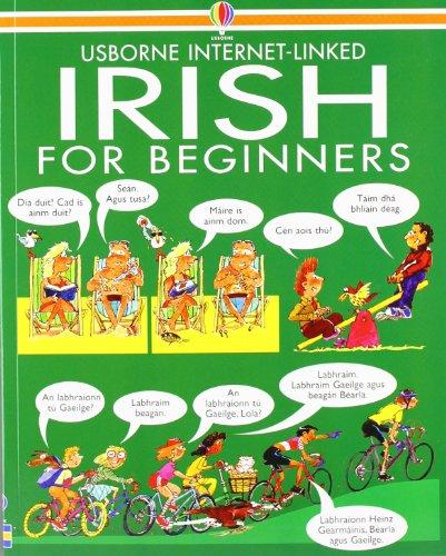 Irish for Beginners Usborne Language Guide (Language for Beginners) (Irish Edition)