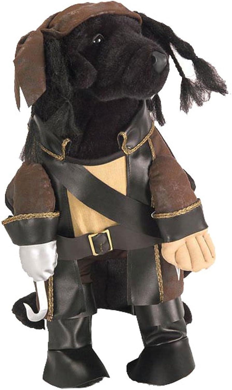 Pirate King Dog Costume, Size Large