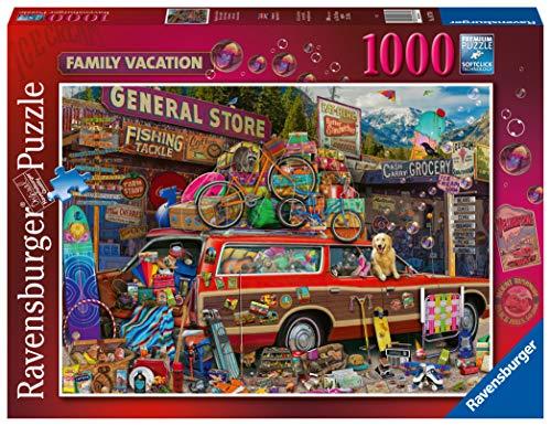 Ravensburger 16776 Aimee Stewart Family Vacation 1000 Teile Puzzle für Erwachsene & Kinder ab 12 Jahren