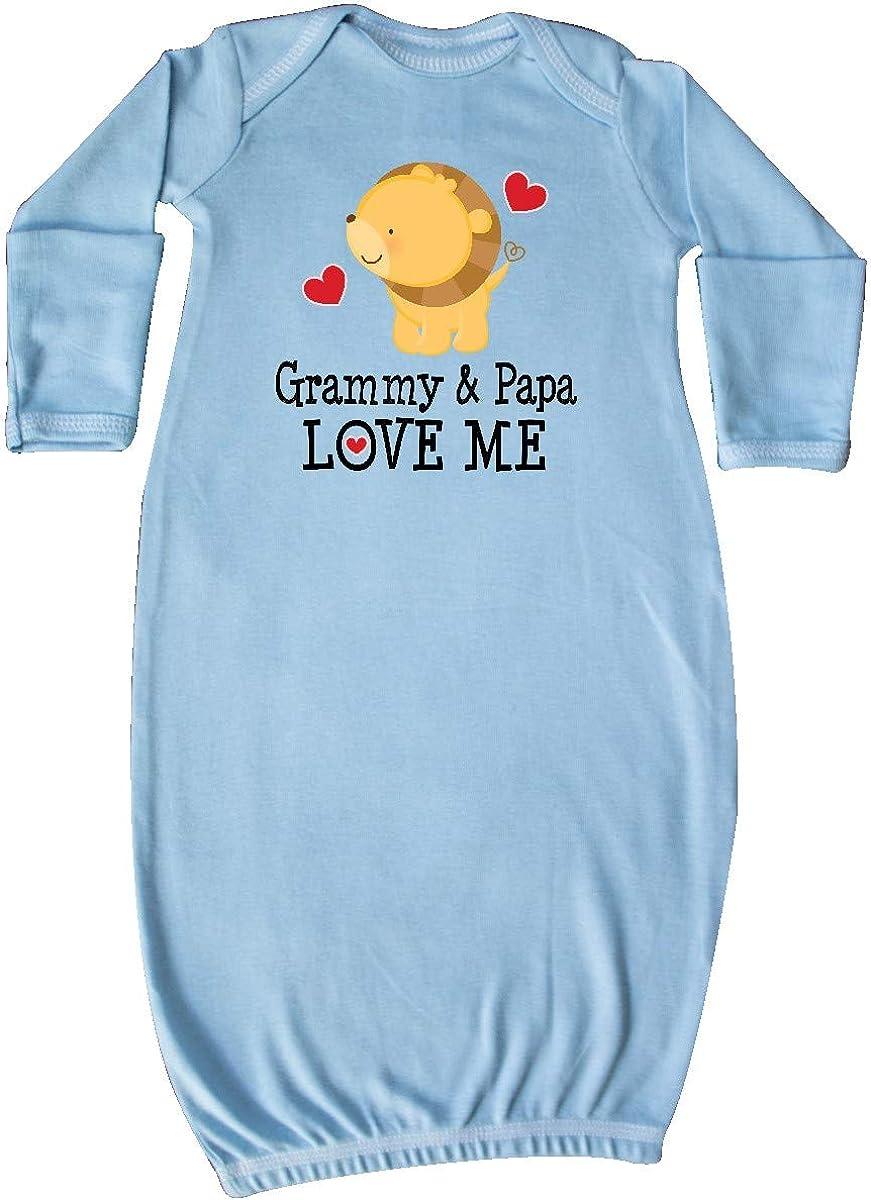 inktastic Grammy and Papa Love Me Grandchild Newborn Layette