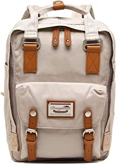 Doughnut Macaroon Laptop Backpack One Size Ivory