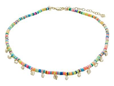 Kendra Scott Reece Choker Necklace (Gold Neon Mix) Necklace