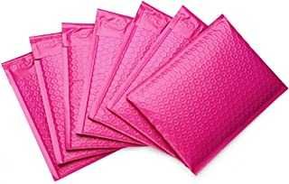 Metronic 50 Pack 6x10 Pink Poly Bubble Mailers Pink #0000 Padded Envelopes Self Seal Shipping Envelopes Shipping Bags