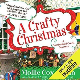 A Crafty Christmas audiobook cover art