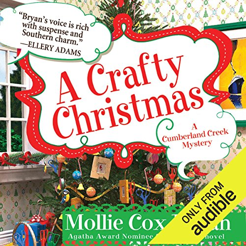 A Crafty Christmas audiobook cover art