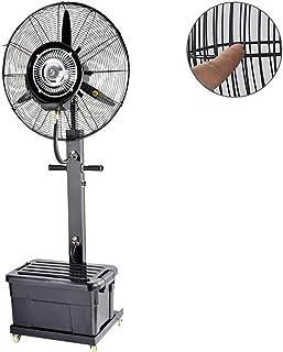 Jyfsa Ventilador Vertical de fábrica Ventilador frío, Ventilador de Piso eléctrico Swing Spray Refrigeración Ascensor Agua de Alta Potencia para la casa Comercial minorista, 3 Engranajes 10 Horas