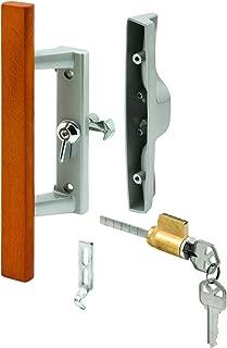 Prime-Line Products C 1064 Sliding Door Handle Set, Wood Pull, Aluminum Diecast, Viking