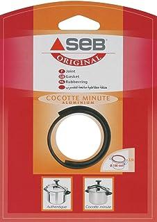 SEB 790135 Junta para Olla A Presión, Aluminio, Negro, 19 cm, 1 Unidad