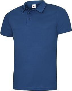Uneek Unisex Polo Shirt Ultimate Cotton  UC104 6 Colour XS-3XL Work Wear Causal