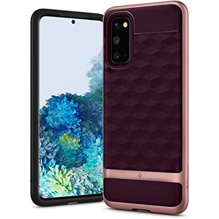 Caseology Parallax for Samsung Galaxy S20 Case (2020) [NOT Compatible with Galaxy S20 FE 5G] - Burgundy