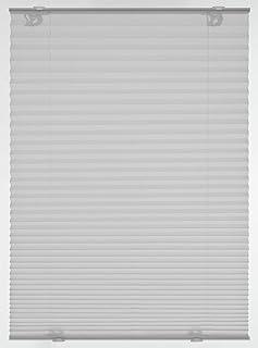Gardinia Estor Plisado (con ventosas, 40 x 130 cm), Color Gris