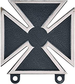 Medals of America Army Marksman Weapons Qualification Badges Silver Oxide Regulation Size Full Size