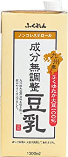 ふくれん 九州産ふくゆたか大豆成分無調整豆乳 1L ×6個