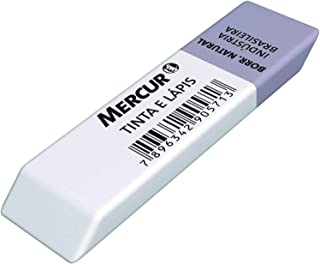 Borracha, Mercur B0101020, Multicor, Pacote de 36