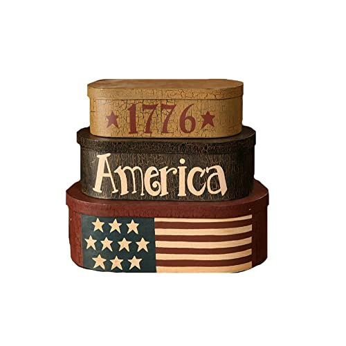 Your Heartu0027s Delight 1776 America Nesting Boxes, 13 1/4 By 15